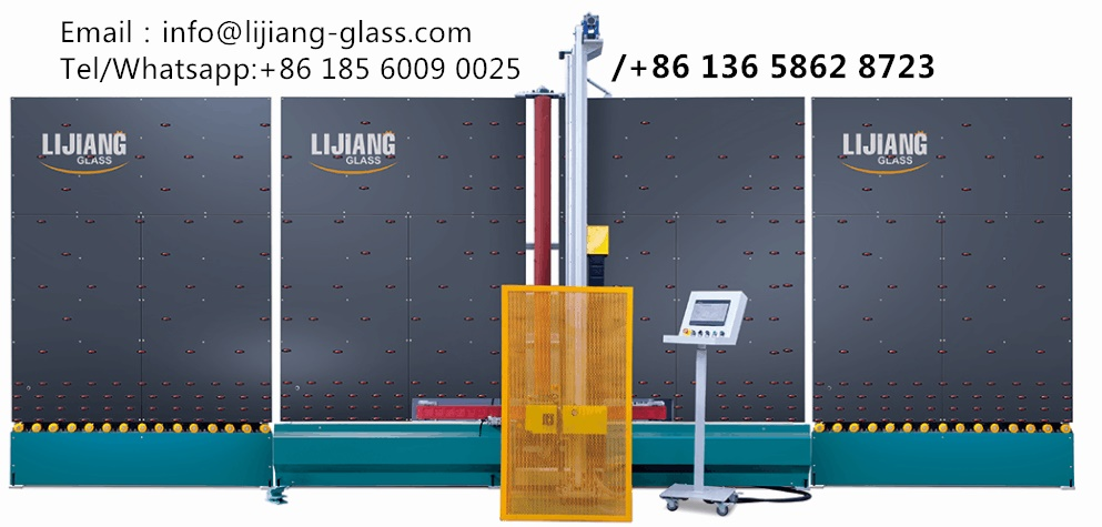 Automatic edge deletion machine of insulating glass machines