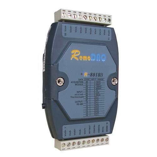 Remote I/O Module R-8018B 8-ch Thermocouple Input Module with Modbus