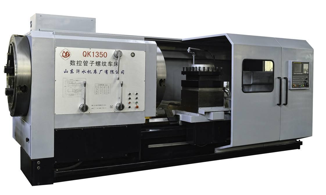QK1350 CNC pipe threading lathe machine