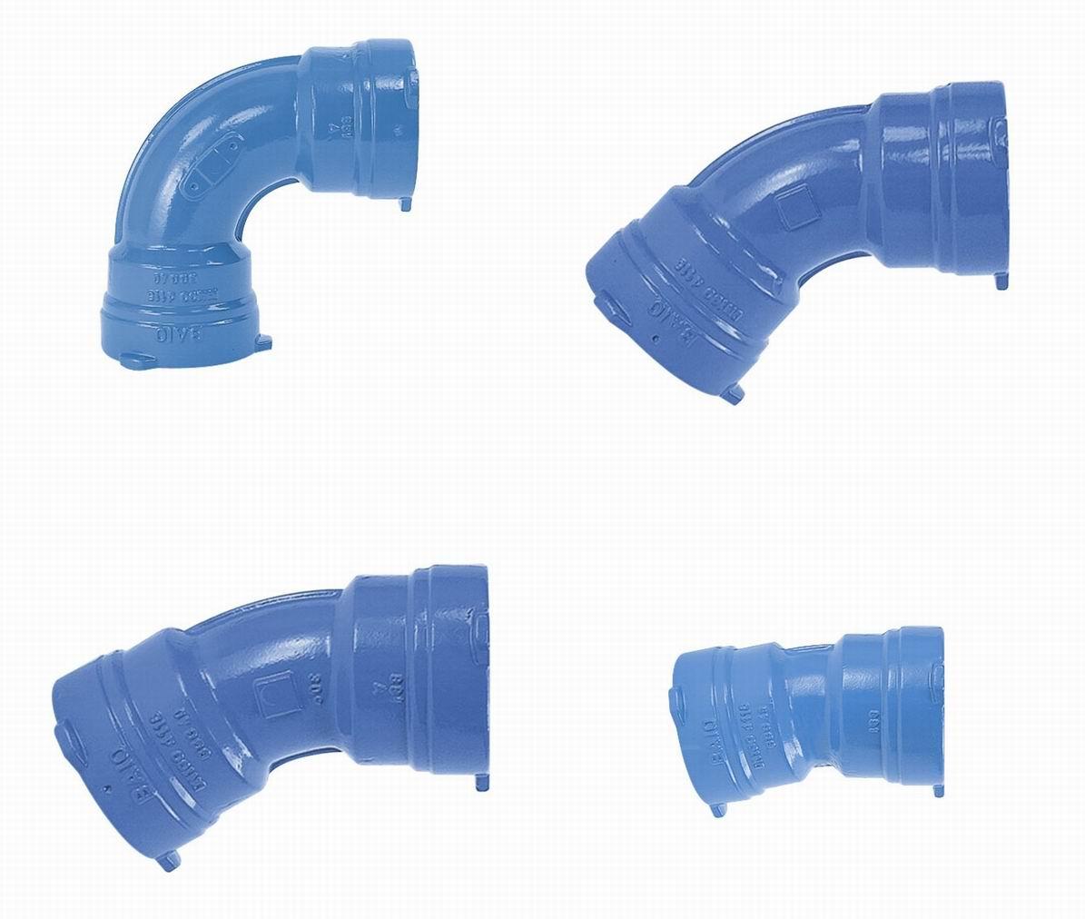 Ductile Iron (GGG) Socket Bend