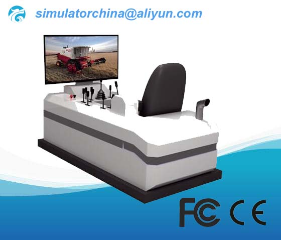 Wheel Harvester Training Simulator