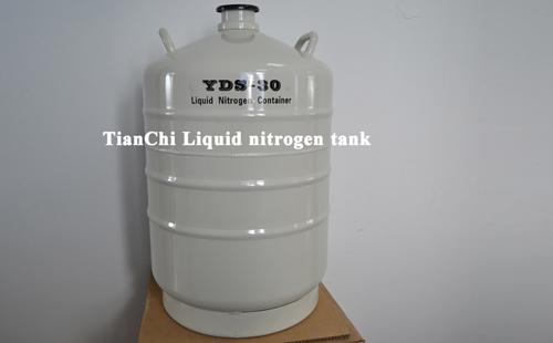 TIANCHI liquid nitrogen storage tank 30L in Malta