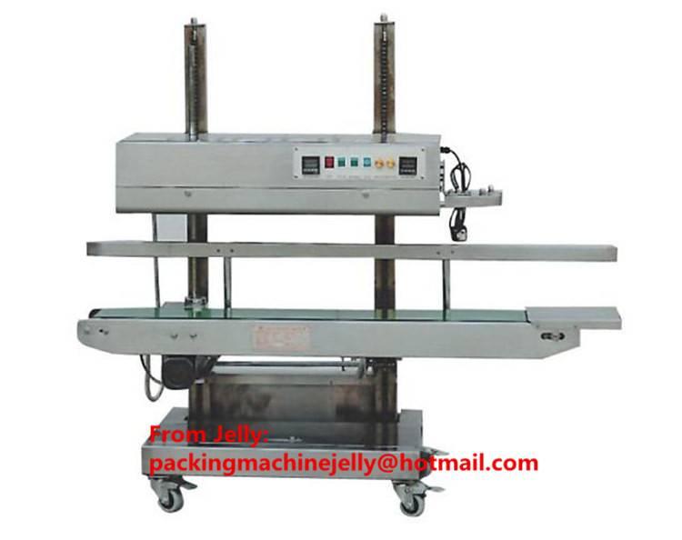 CBS1100V vertical continuous plastic big bag sealing machine