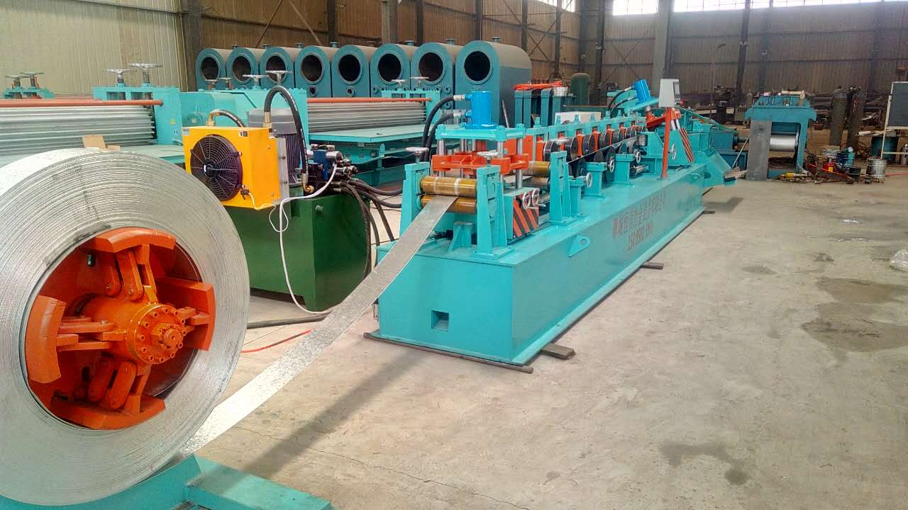 Steel coil packaging materials production equipment