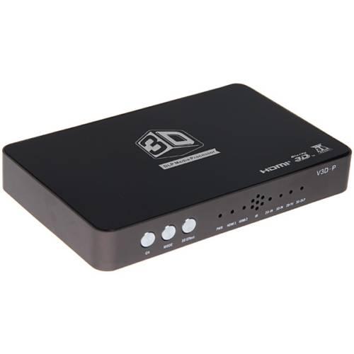 2D to 3D HD Video Converter Box support 3D HDTV&DLP projector
