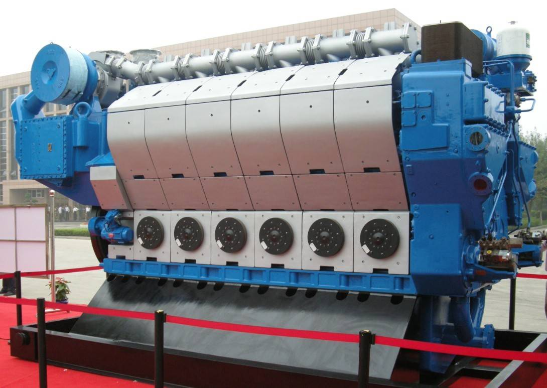 MAN 12V26/32 China 3000kw Gas Engine/Generator
