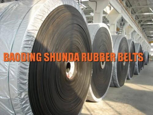 300-3000mm width EP cold resistant rubber conveyor belt manufacturer