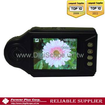 Digital Mobile video stereo Camera Microscope with LCD screen
