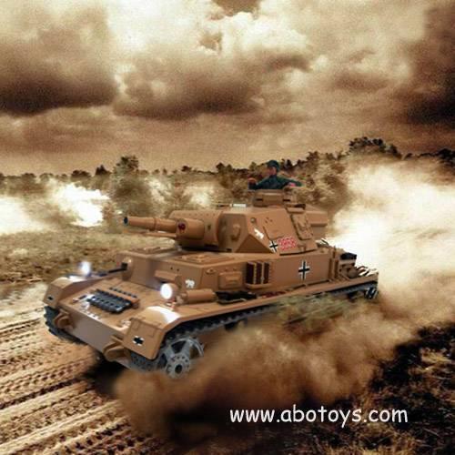 1:16th Scale Dak Panzer Kampfwagen IV RTR R/C Airsoft Battle Tank