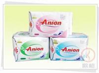 Anion Sanitary Napkins and Panty liners