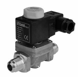 Castel solenoid valves
