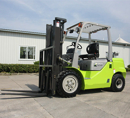 3.5T Four Wheel Electric Forklift Truck