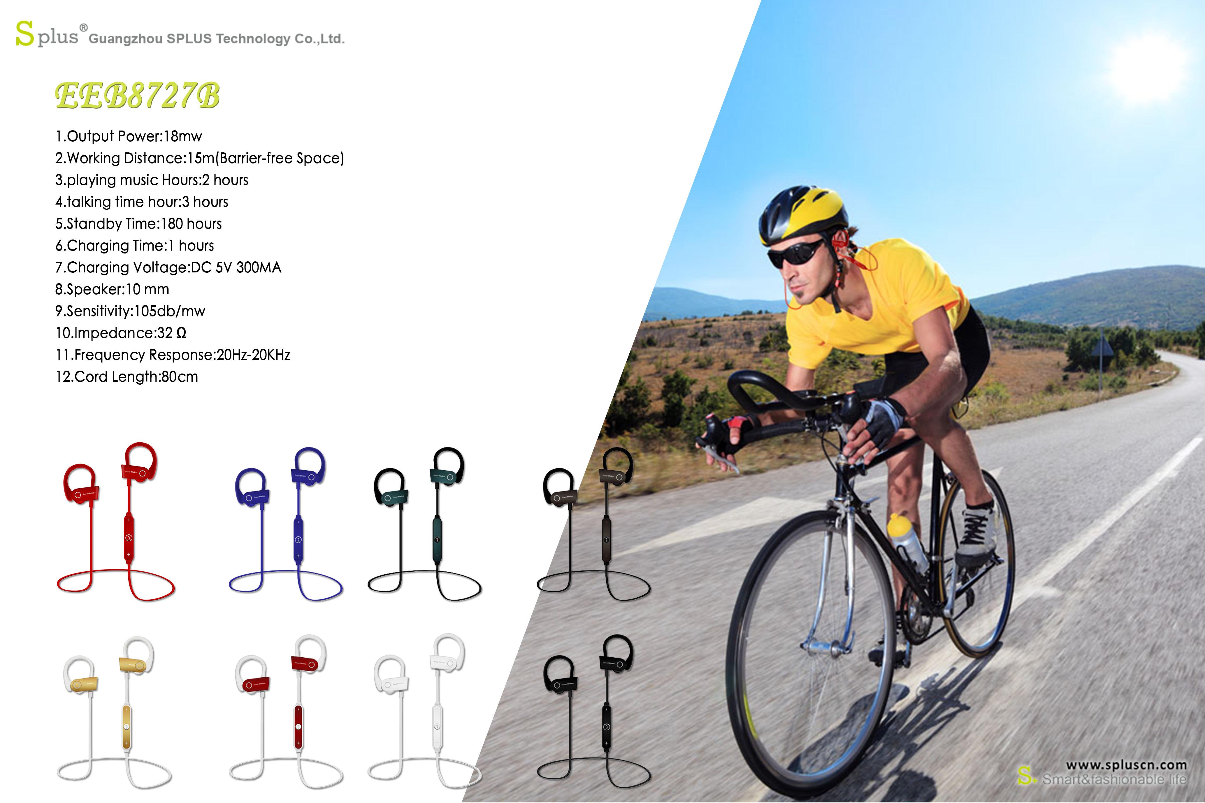 Comfortable Wearing Earhook Wireless Earphone