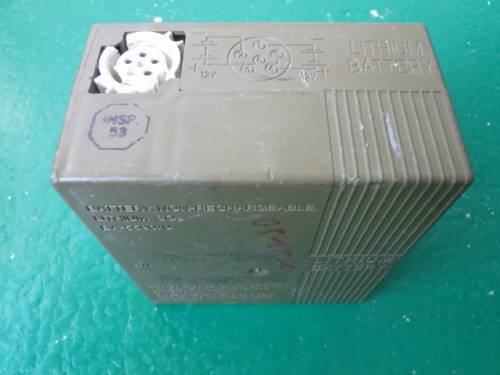 Lithium Manganese Dioxide Military Battery BA-5590/U