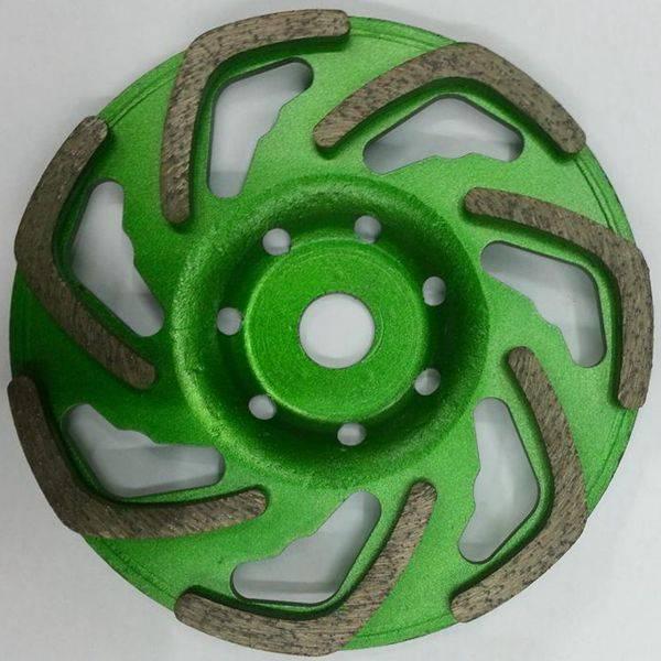 Fan Shape Diamond Concrete Turbo Grinding Cup Wheels