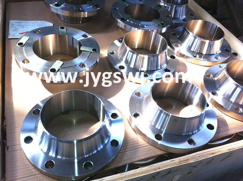 Sell duplex steel F51 weld neck pipe flanges