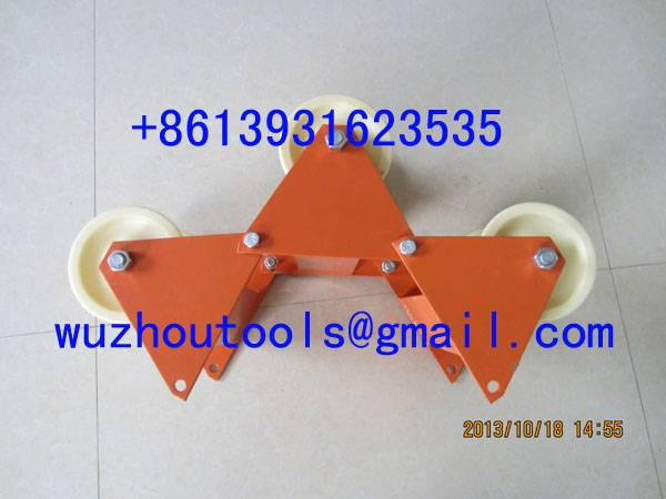 Corner Roller With Plug-In Hinges,Cable Guide ,Cable Laying