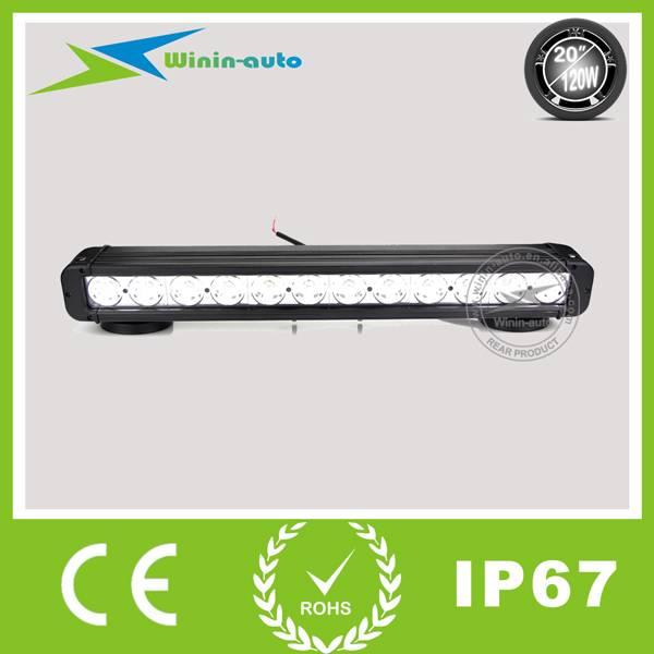 20 120W Cree LED work light bar for truck crane 8100 Lumens WI9011-120