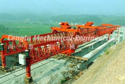Road Construction Launching Crane