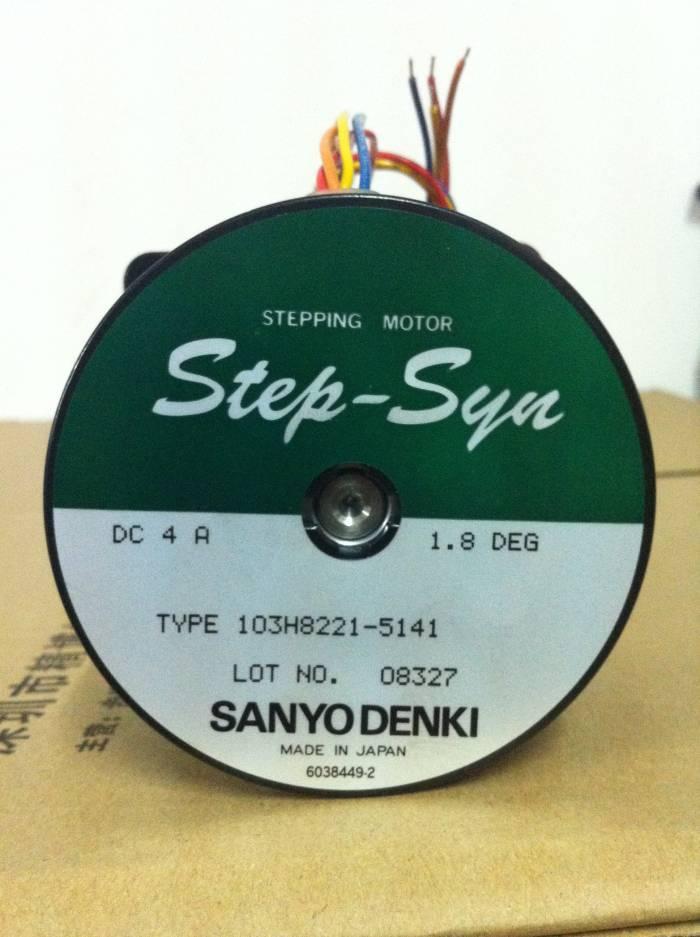 Sanyo stepping motor 103H8221-5141