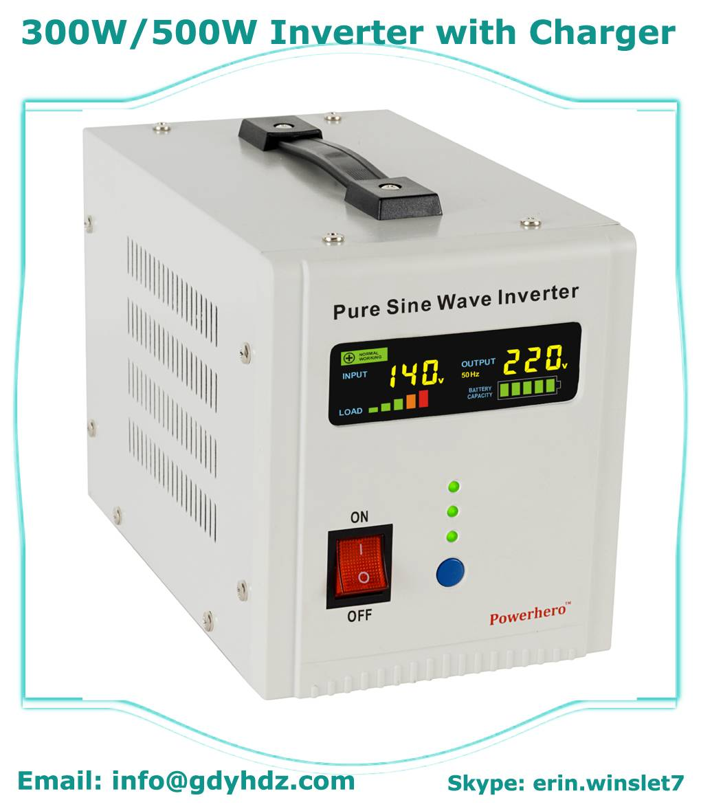 Pure Sine Wave Inverter/DC to AC Inverter/UPS Inverter with AVR function