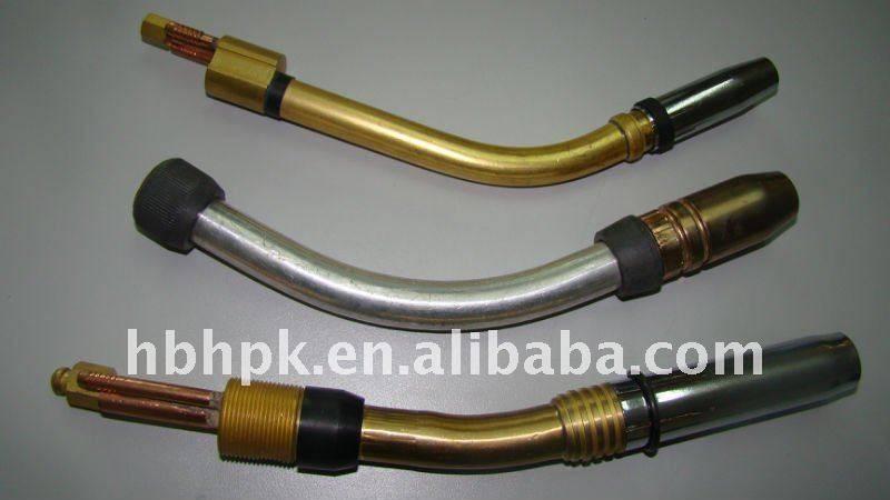 Brass Torch Swan Neck