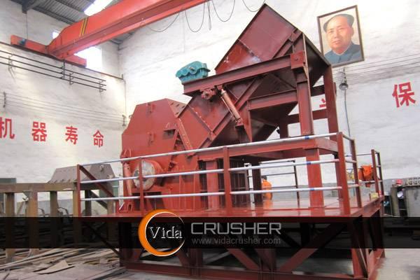 Vida Metal Crusher Scrap Metal Crushing and Recycling