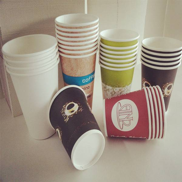 hot coffee cup paper