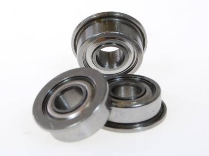 4mm bore dia flange bearing MF74ZZ MF84ZZ F684ZZ MF104ZZ F694ZZ