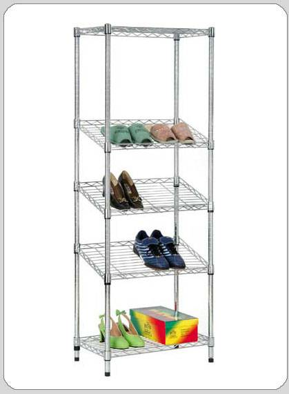 Selling home furniture carbon steel chrome shoes racks