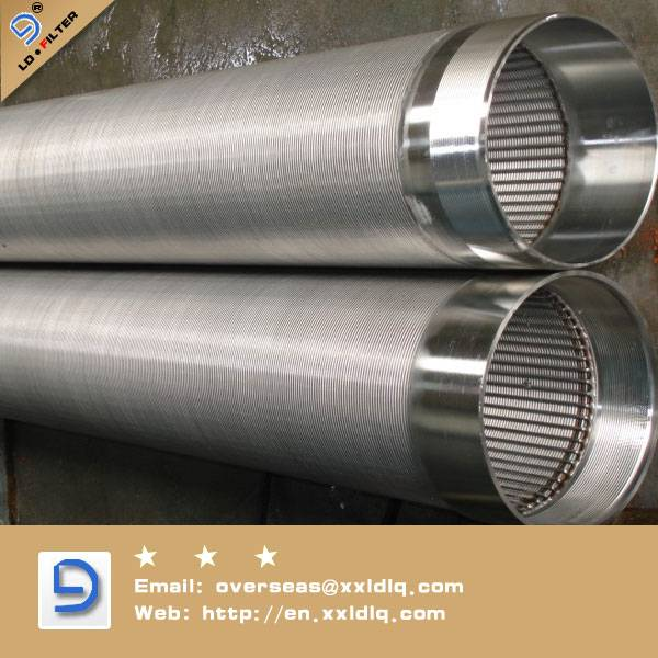 sus 316l stainless steel screen pipe