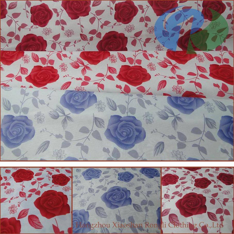 Sell floral woven printed bedding fabric