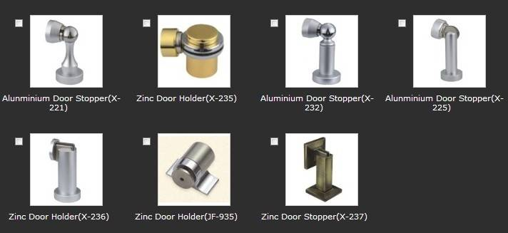 Thirty-one different kinds of Door Stops(series 4)