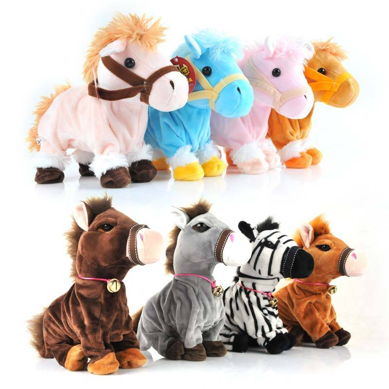 Intelligent Horse Plush Toys With Voice Control