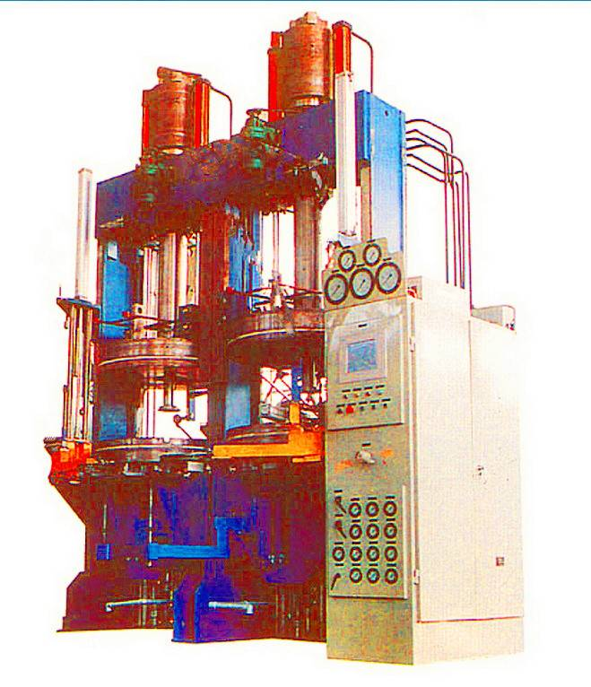 Double Molds Sidewall Plate Hydraulic Tire Machine for curing radial and bias tyre