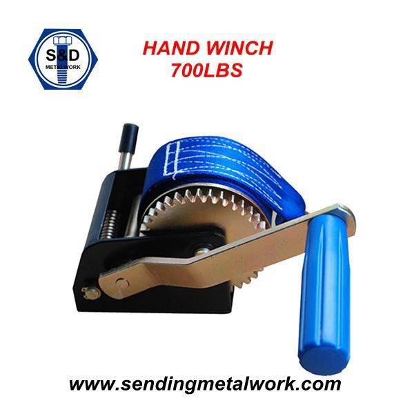 Hand Winch With Strap