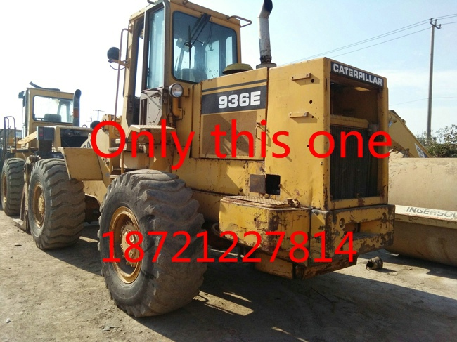 used caterpillar wheel loader machine equipment 936E on sale for engineering and construction