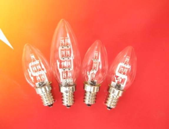 C35/C32 E12 screw LED candelabra light