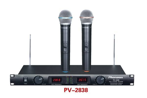 PV-2838 VHF Wireless Microphone
