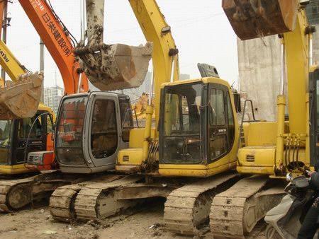 Sell used excavator KOMATSU PC 120