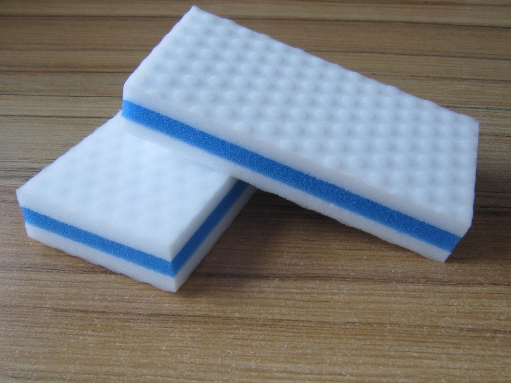High density compressed melamine foam magic eraser melamine sponge composite foam