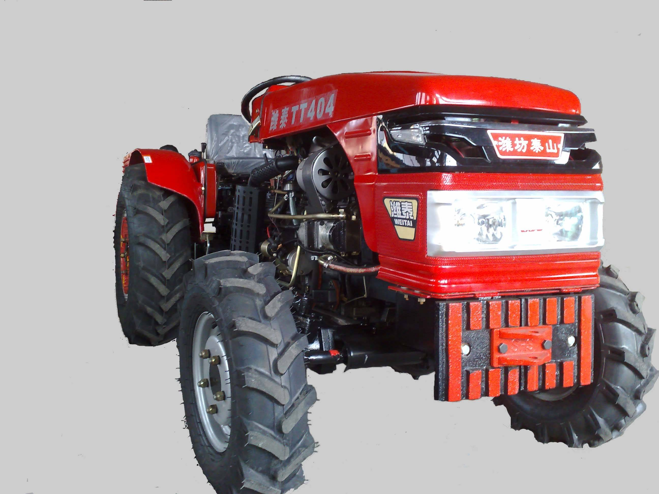 40Hp 4wd mini garden tractors with CE