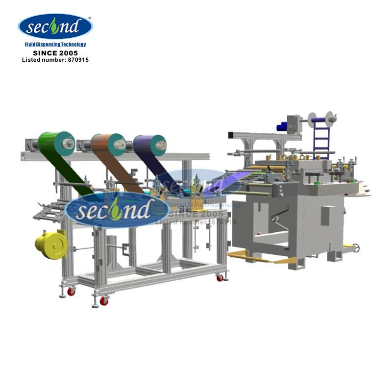 SECOND Hydrogen Fuel Cell Making assembly line