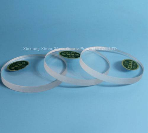 quartz clear glass plate