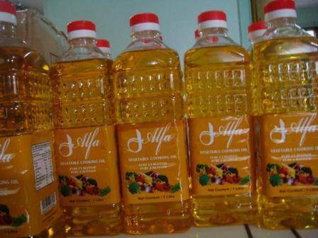Alfa Vegetable Palm oil sales