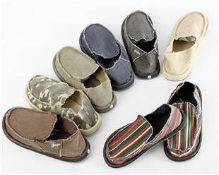 sell men canvas shoes