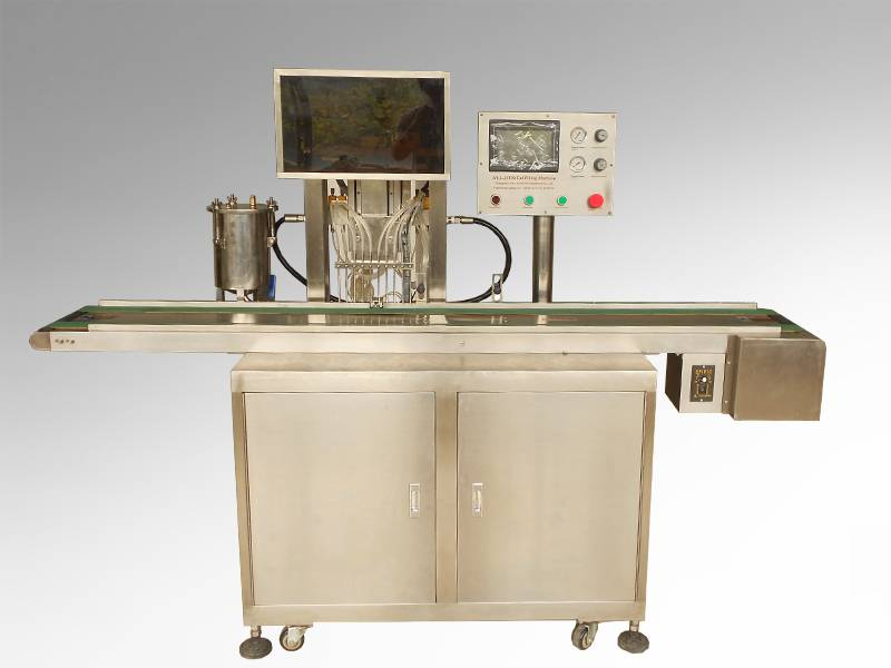 10 Channels Automatic Gel Filling Machine