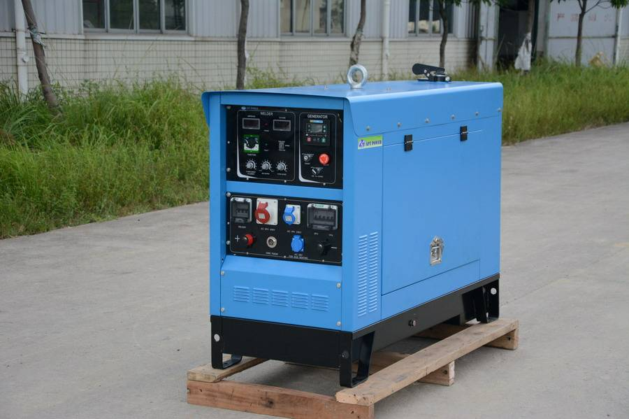 Deutz air-cooled welding generator set with MMA GMAW and TIG welding functions on sale