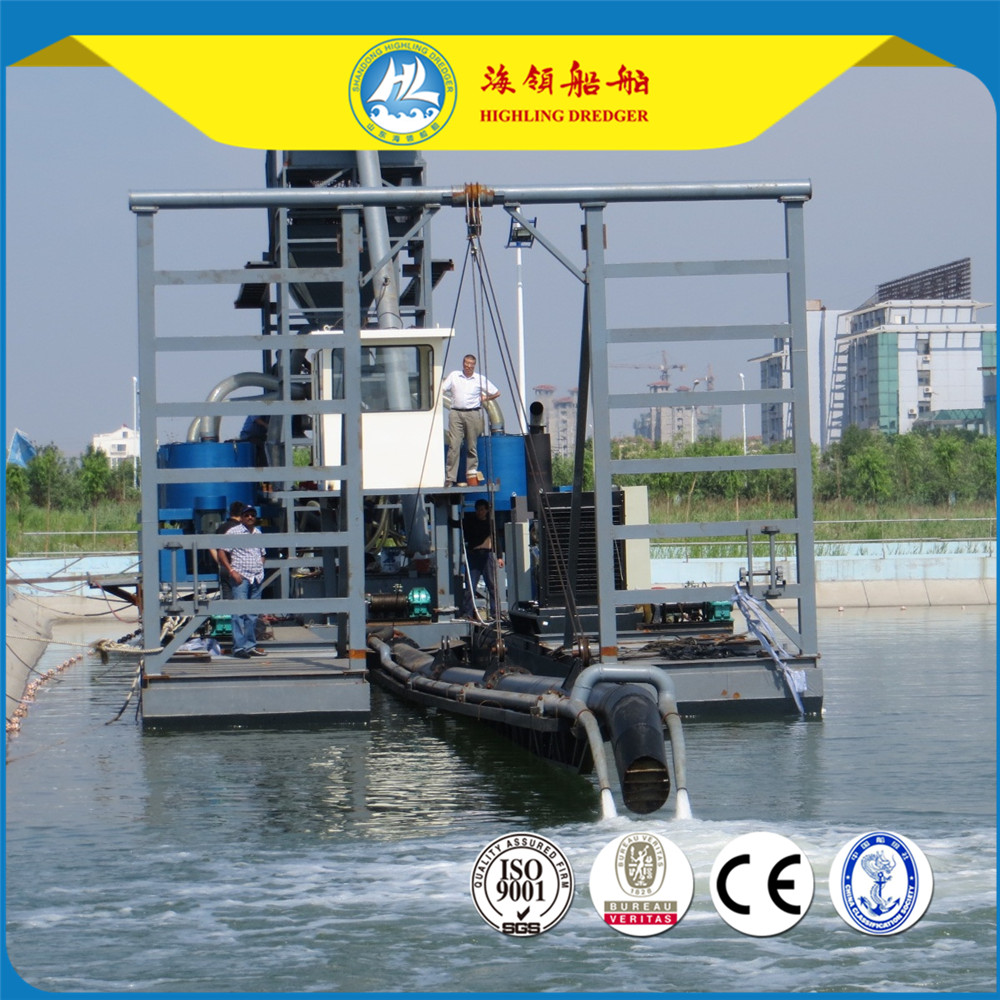 China Sand Jet Suction Dredger