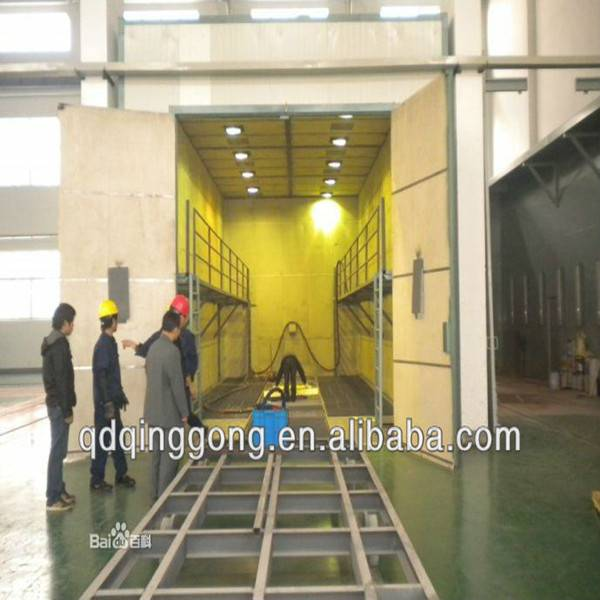 Surface Derusting Blasting Room Factory Price Shot Blasting Booth